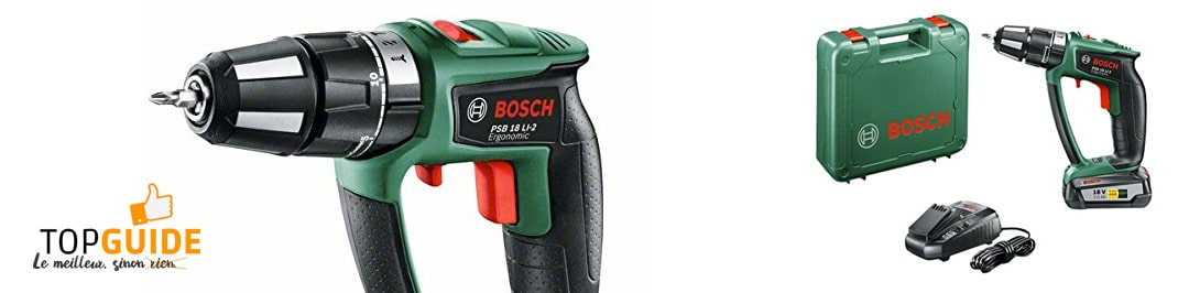 Bosch Perceuse visseuse à percussion  Expert PSB 18 LI-2
